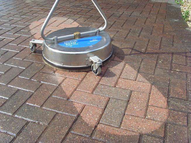 paver cleaner machine